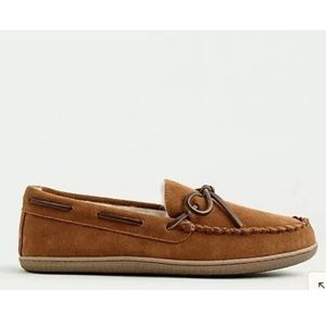J. Crew Shoes - J Crew Men Classic Faux-Shearling Moccasin Size 11